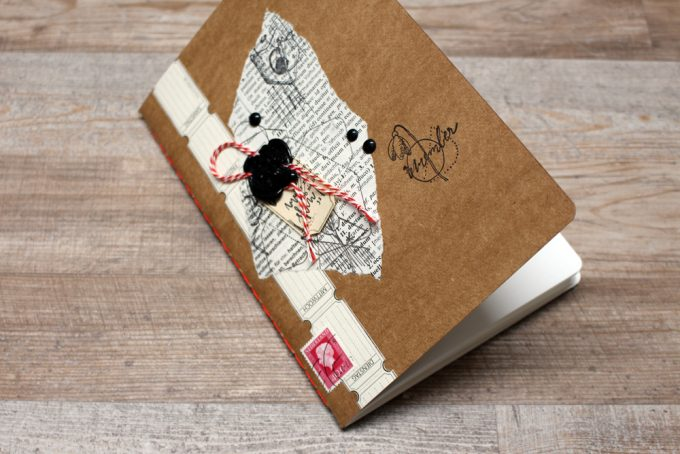 bookbinding, kleinstichtige heftung